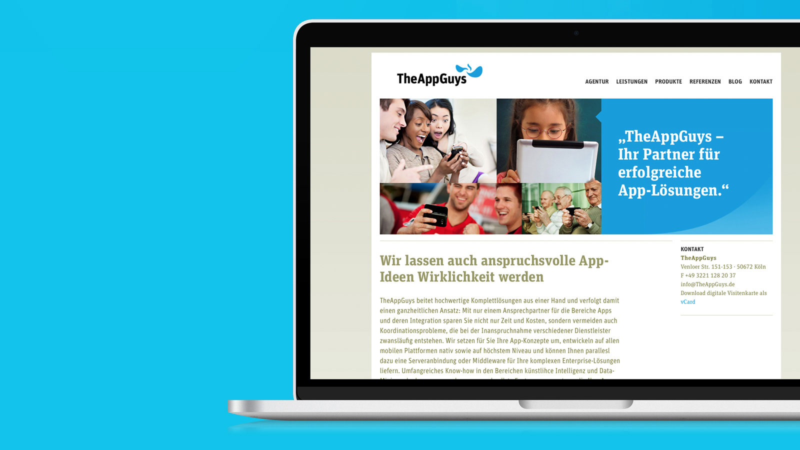 Appguys Responsive Webdesign