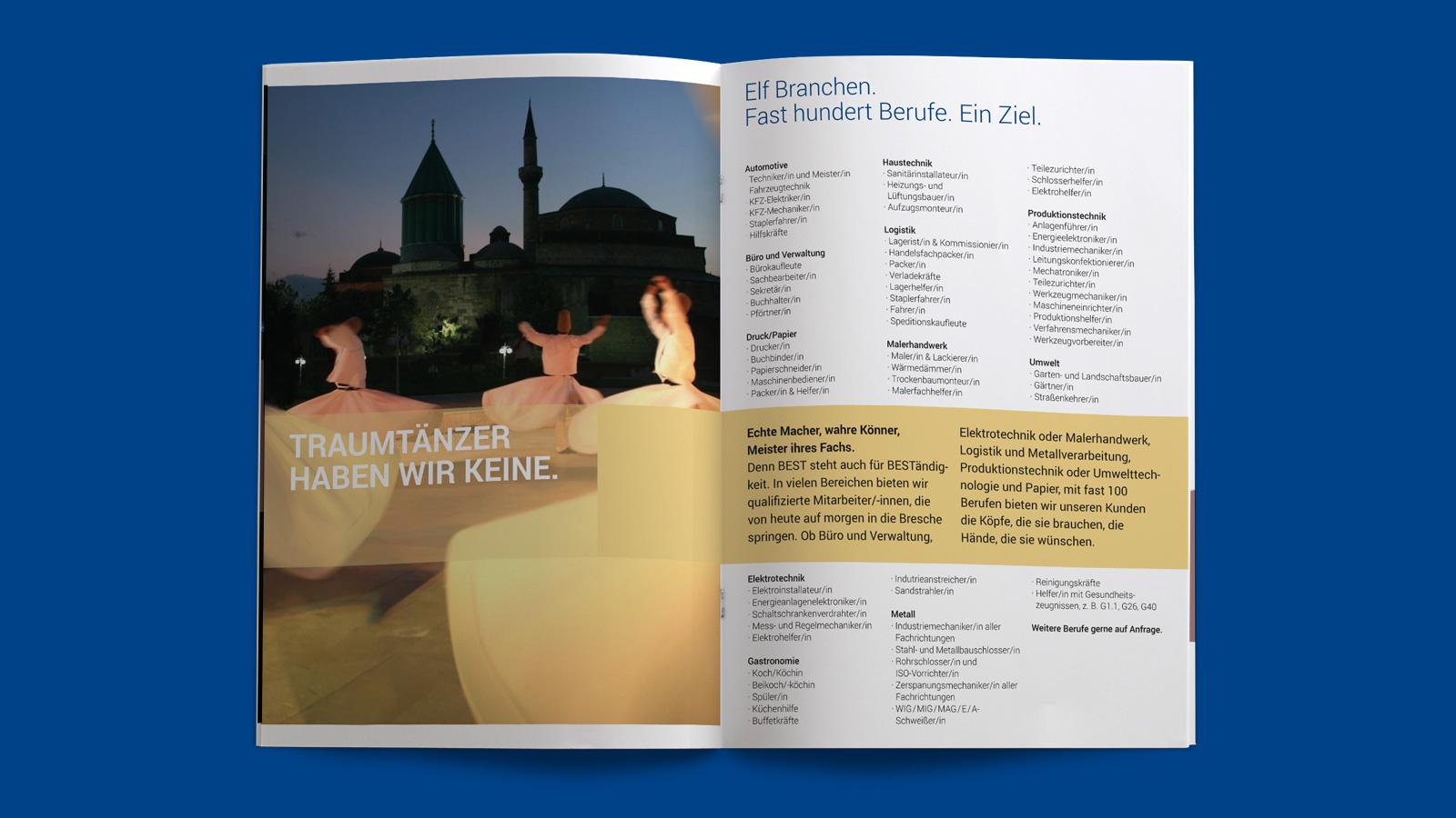 Broschüre Personaldienstleister