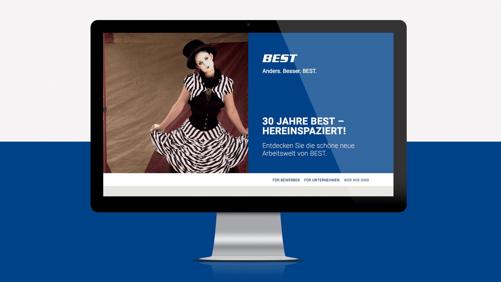 Responsive Webdesign Personaldienstleister