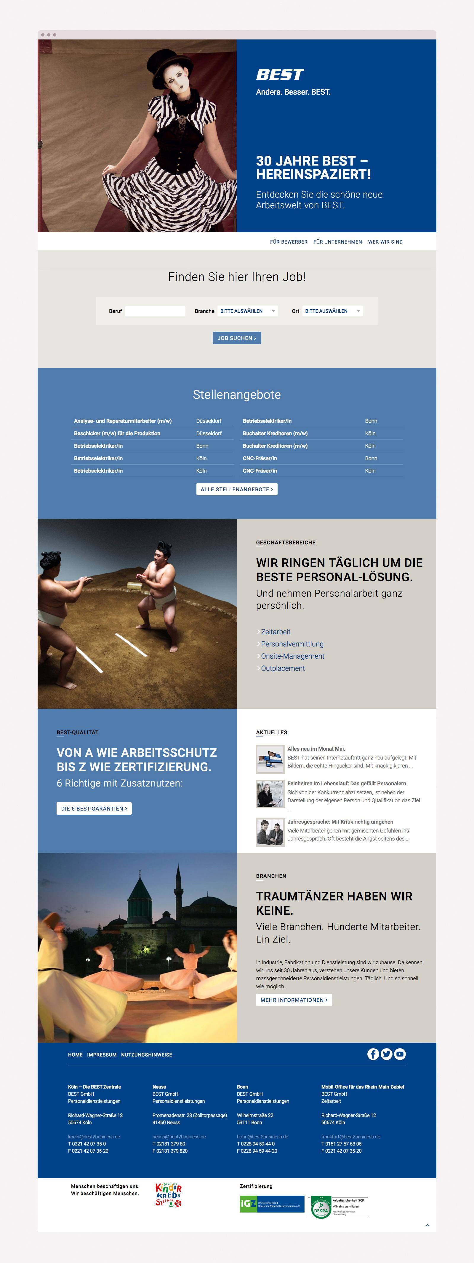 Responsive Webdesign Personaler