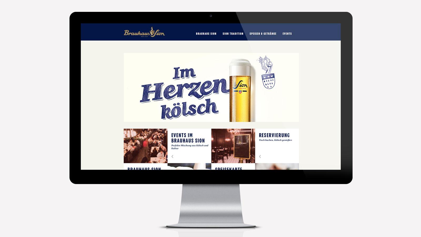 Kölner Brauhaus Website
