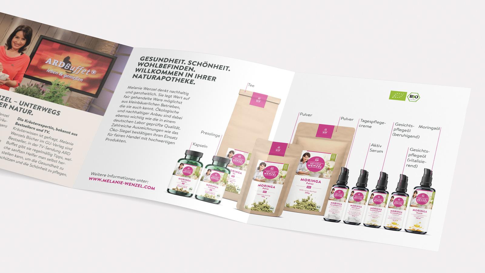 Broschüre Moringa-Produkte
