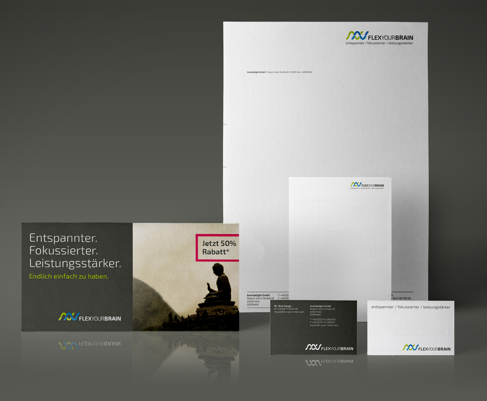 Neurofeedback Corporate Design