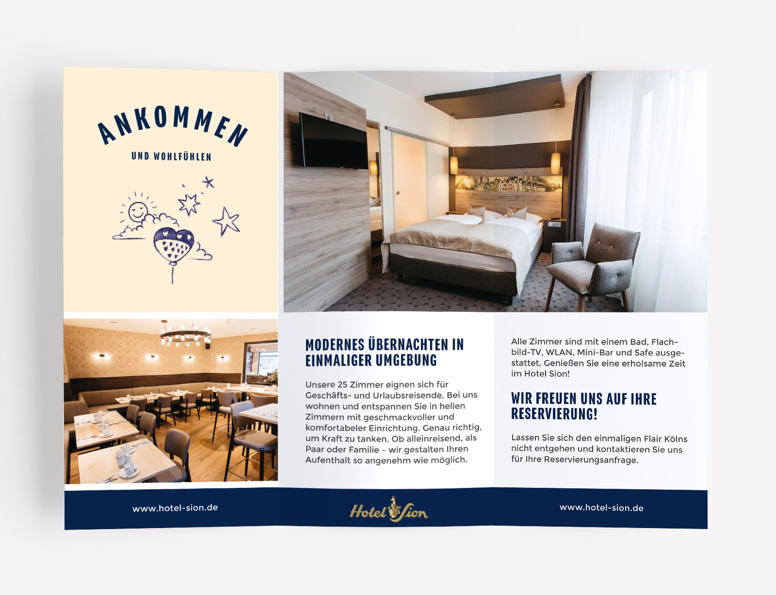 Hotel Sion Flyer