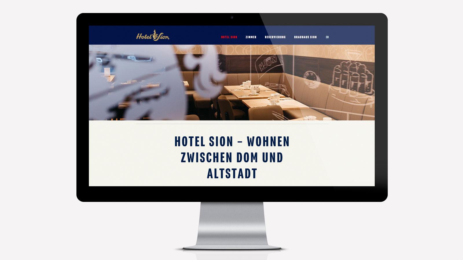 Webdesign Kölner Hotel