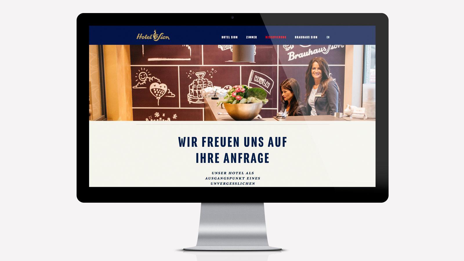 Hotel responsive Webdesign