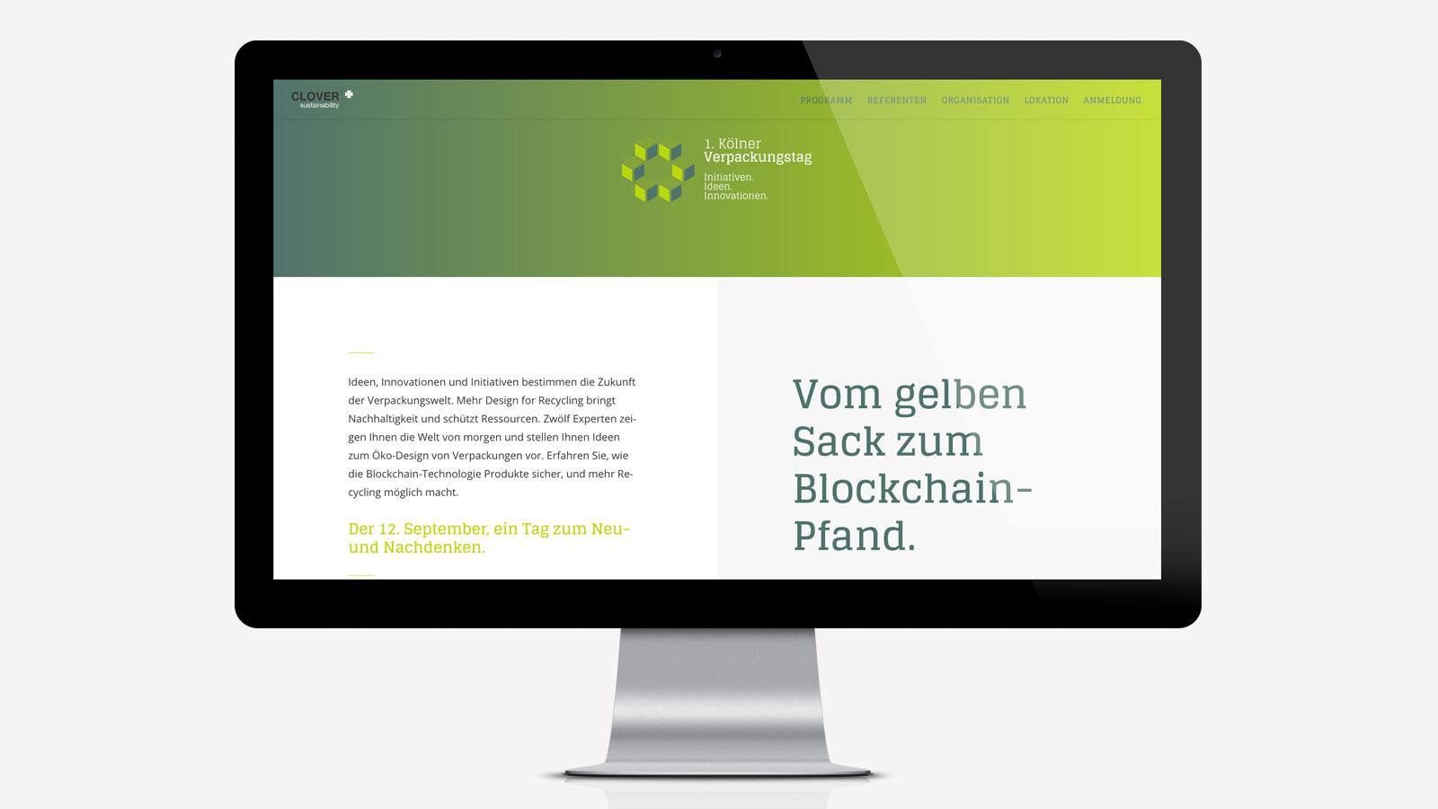 Responsive Webdesign für Event