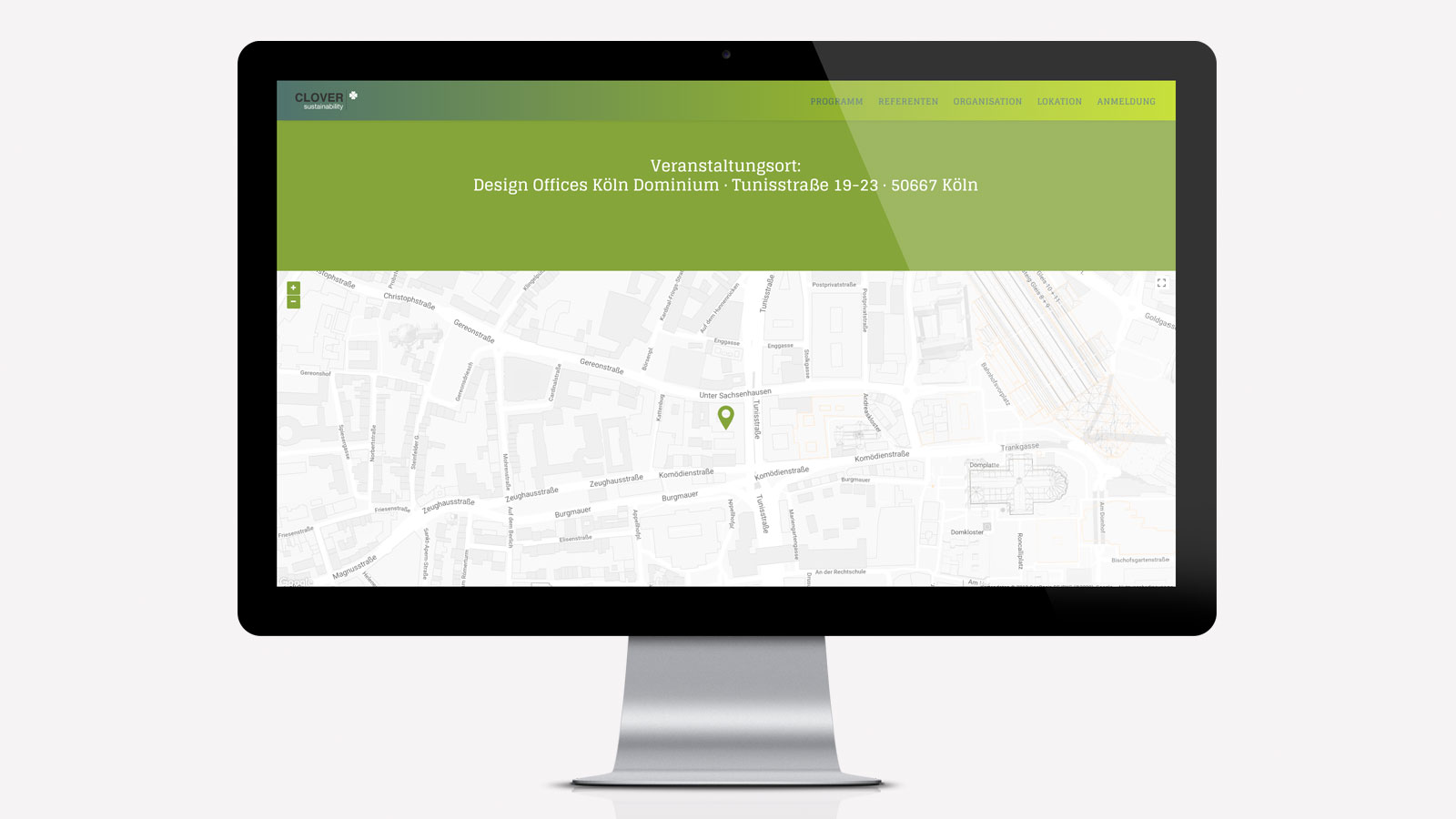 Responsive Webdesign für Clover