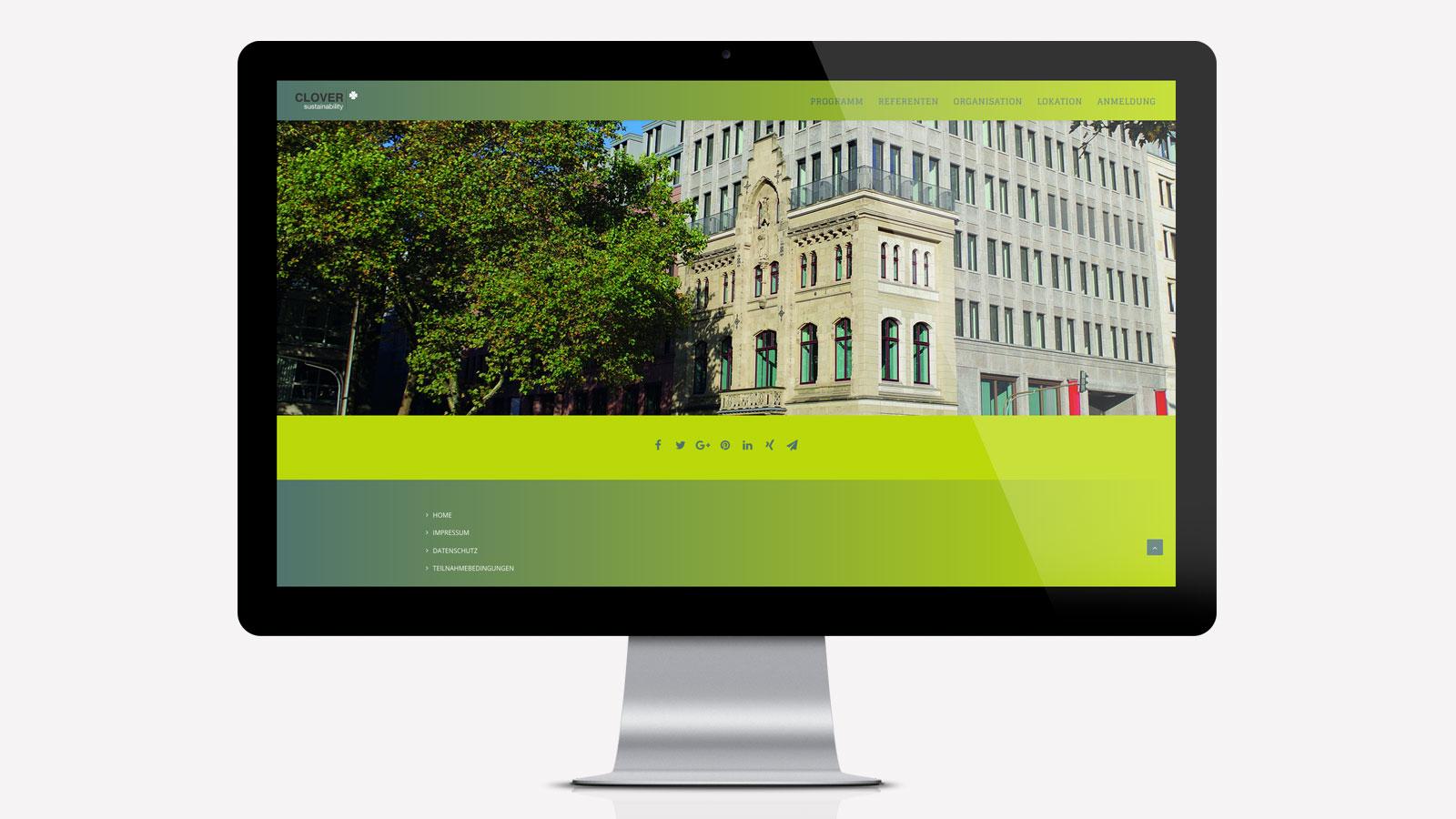 Webdesign 1. Kölner Verpackungstag