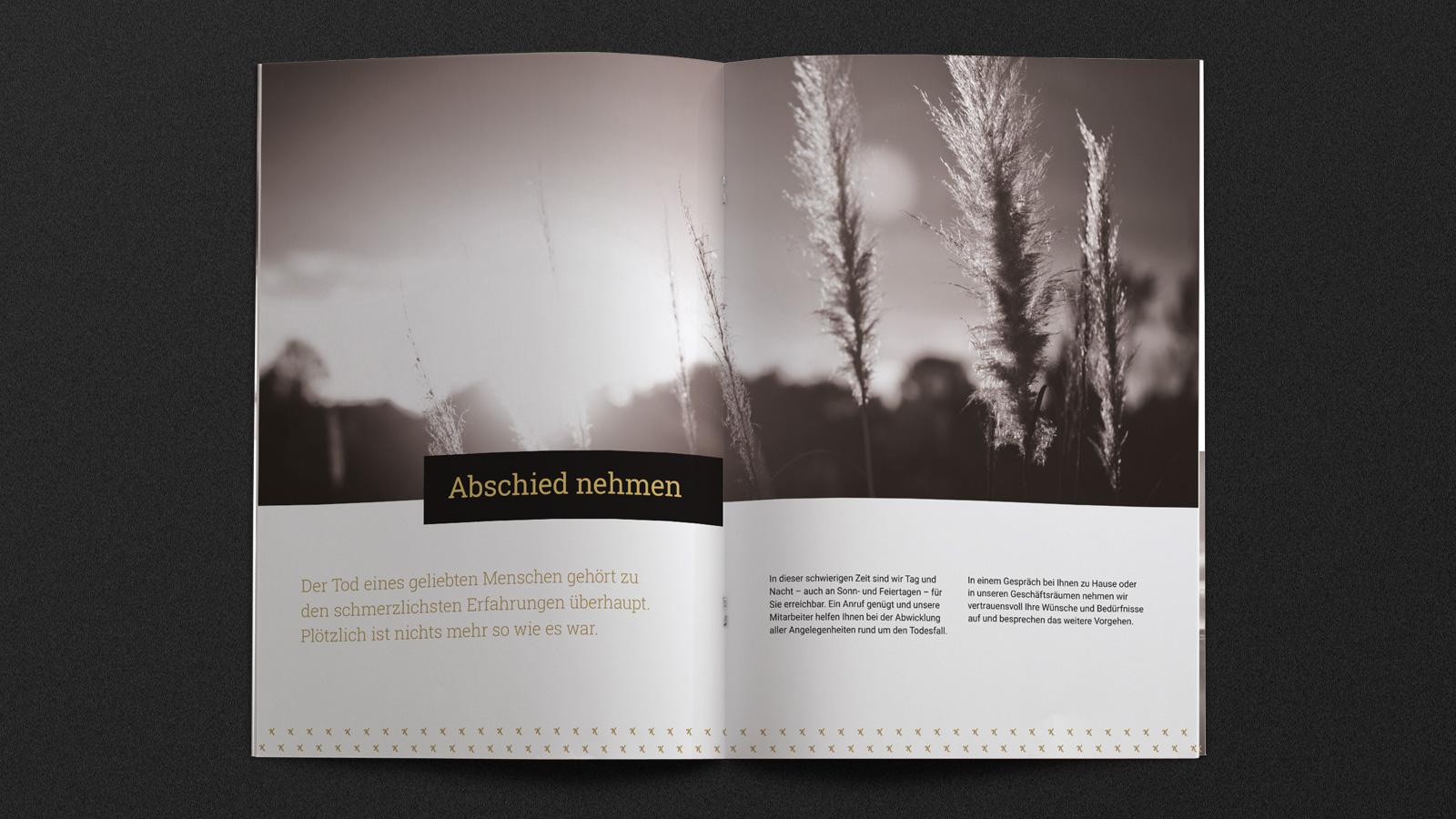 Bestattungen Köln Broschüre