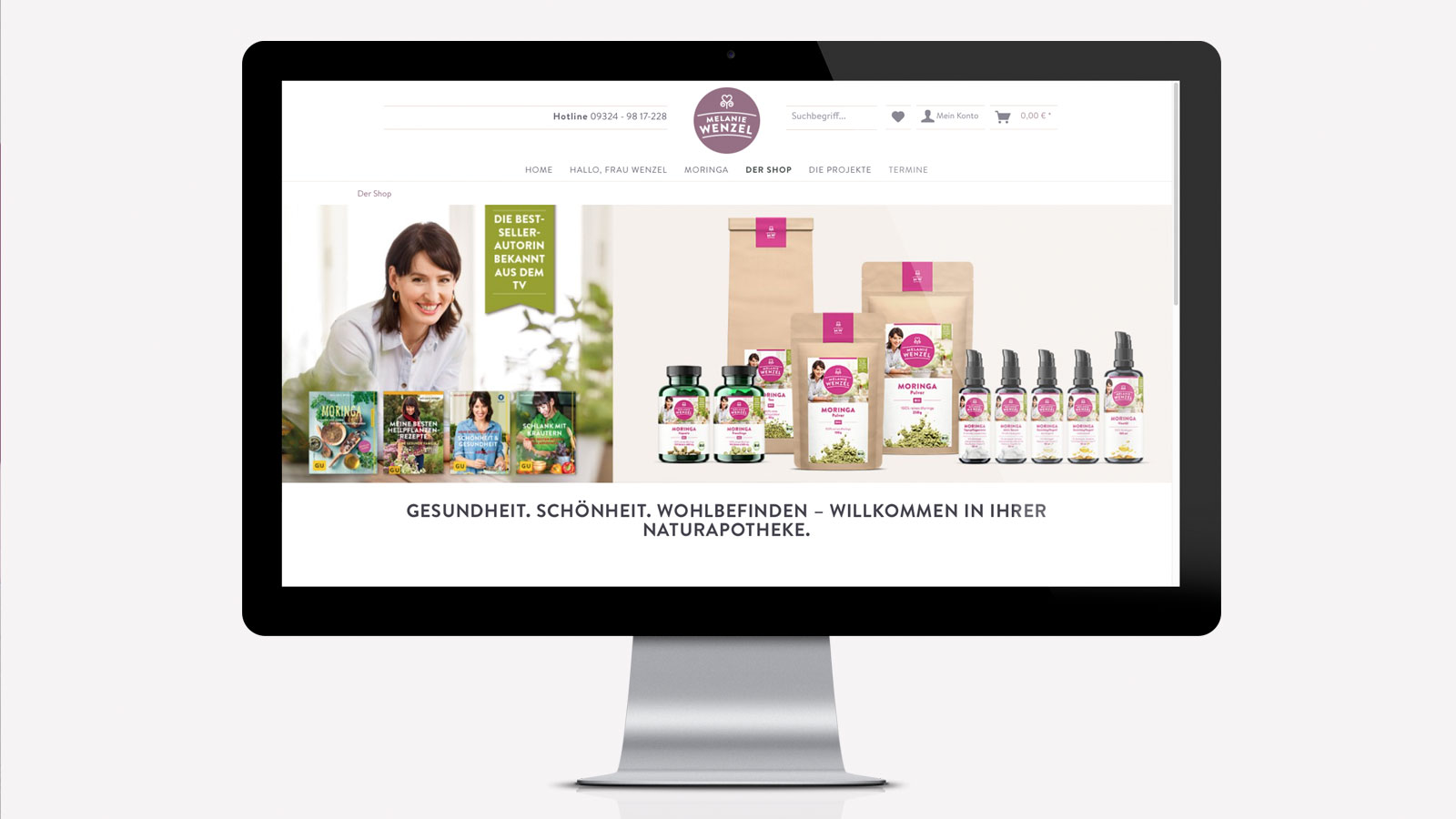E-Shop für Moringa-Produkte