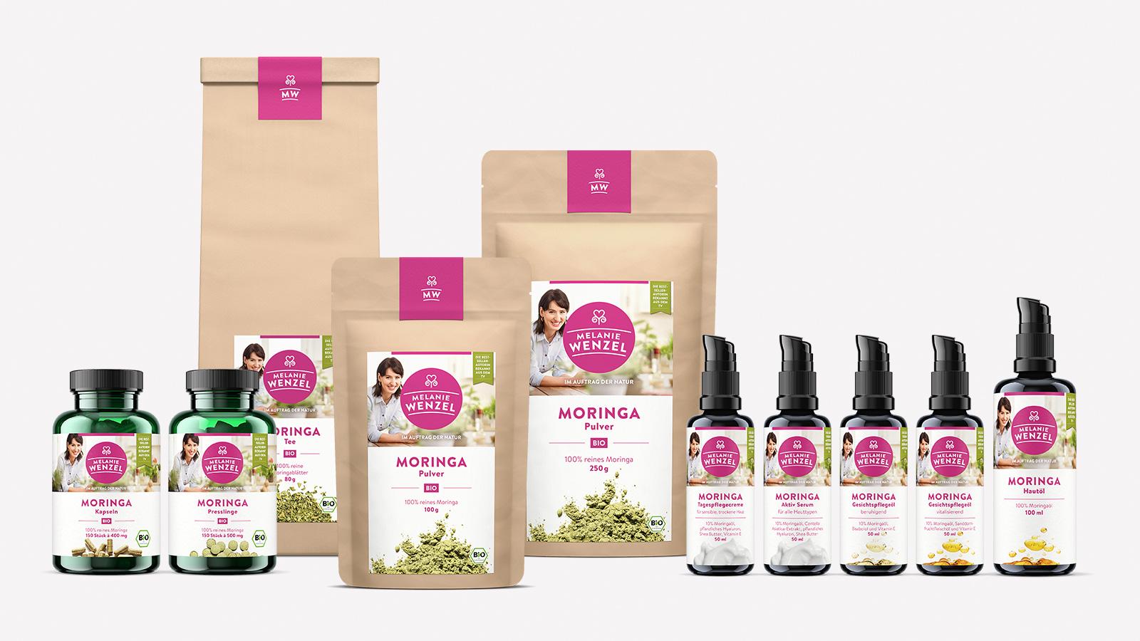 Packaging Design für Naturprodukte