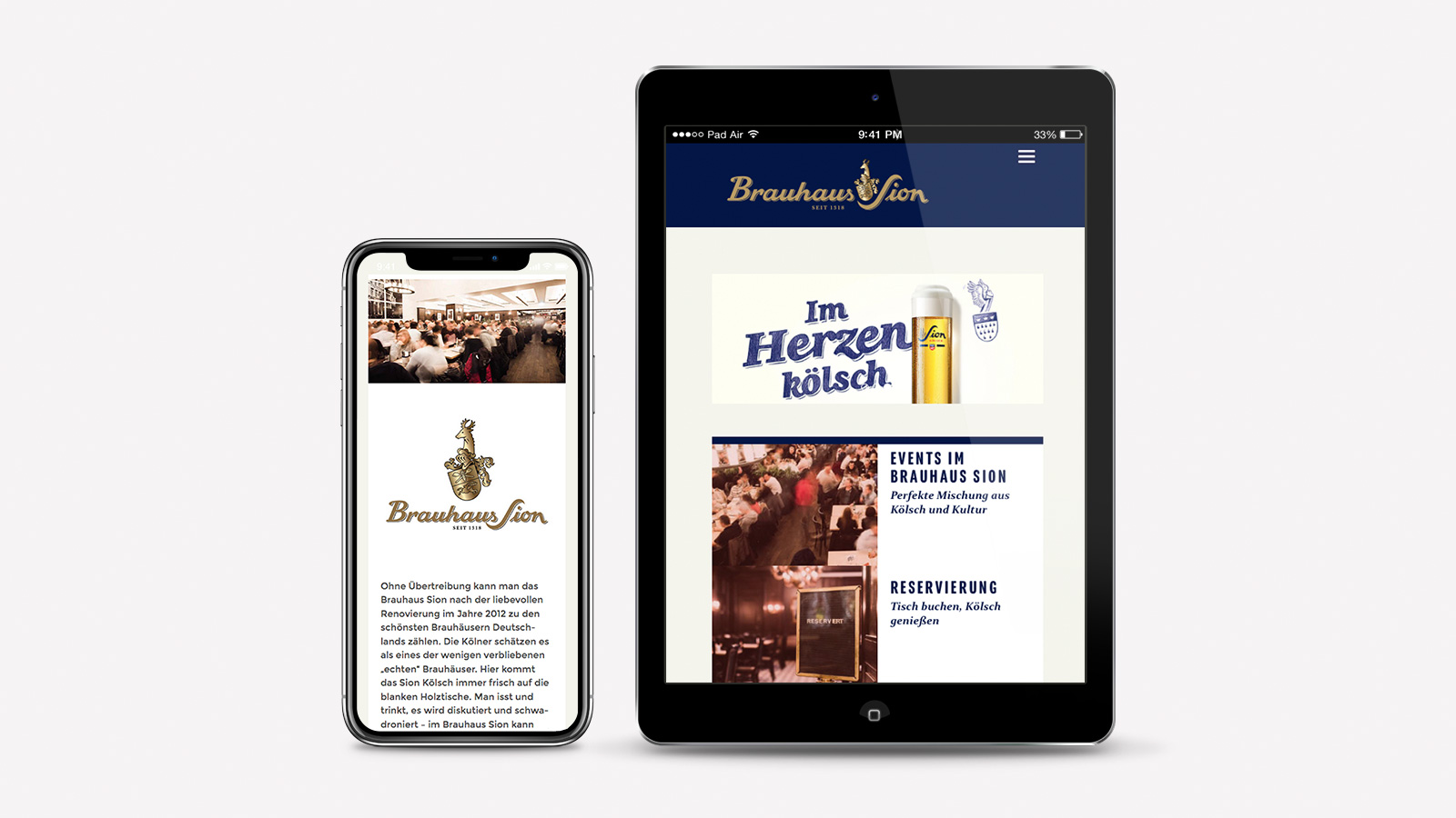 Responsive Webdesign Brauhaus