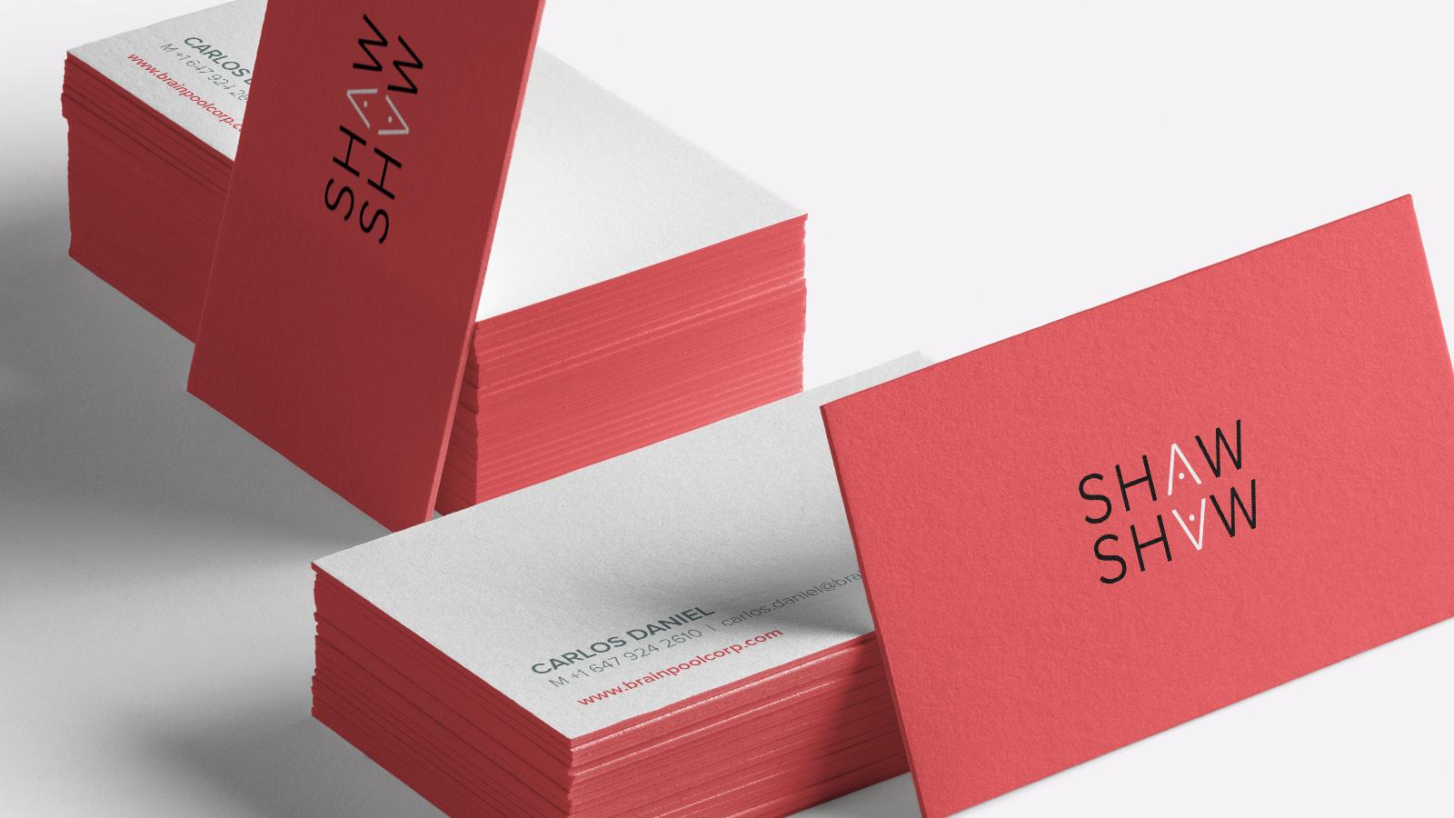 Visitenkarten für Shaw & Shaw
