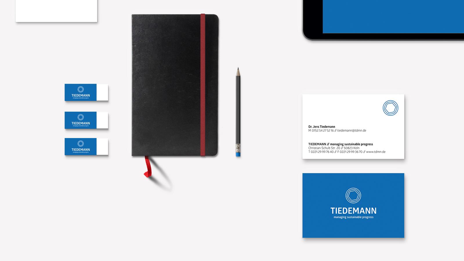 Corporate Design für Tiedemann