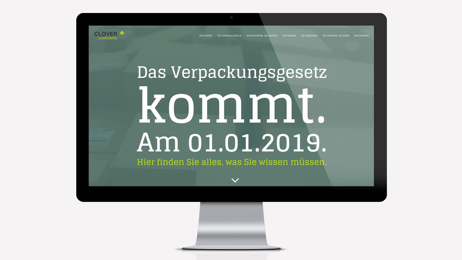 Website Verpackungsgesetz