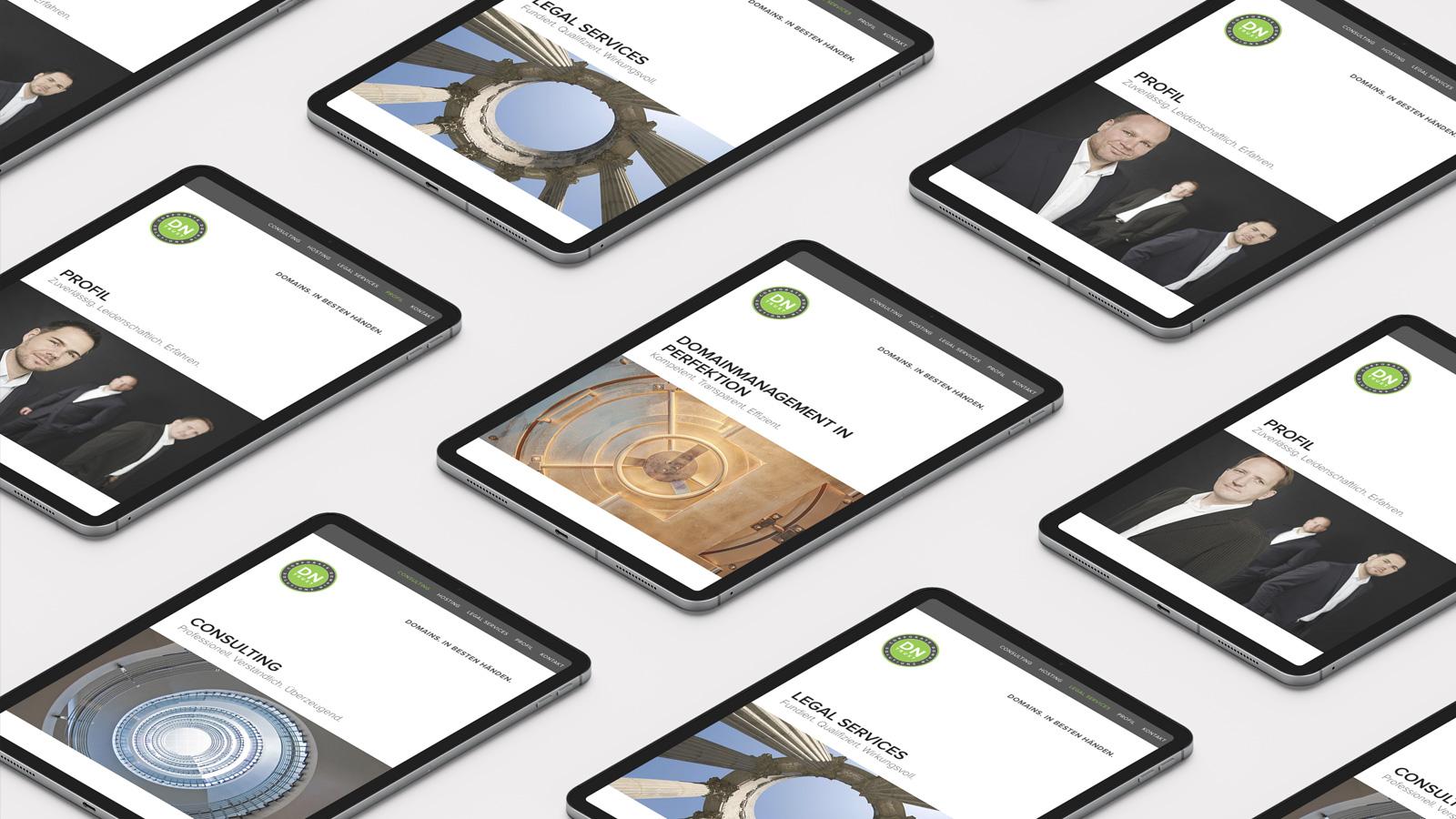 DNTrust Responsive Webdesign