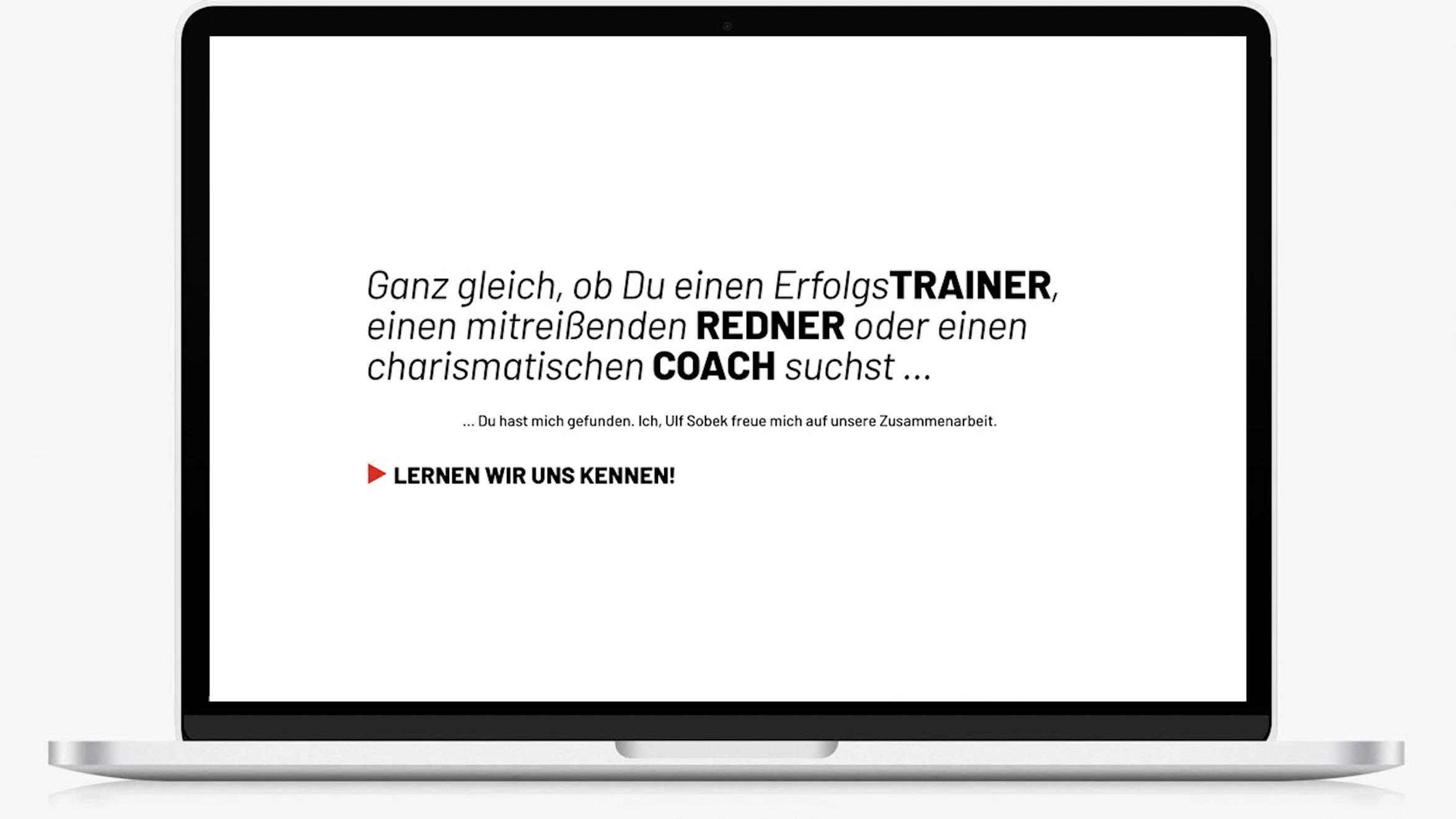 Webdesign Trainer