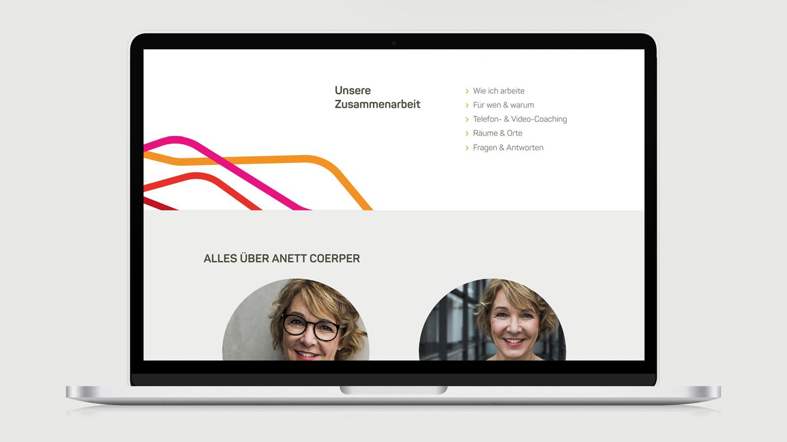 Anett Coerper Webdesign