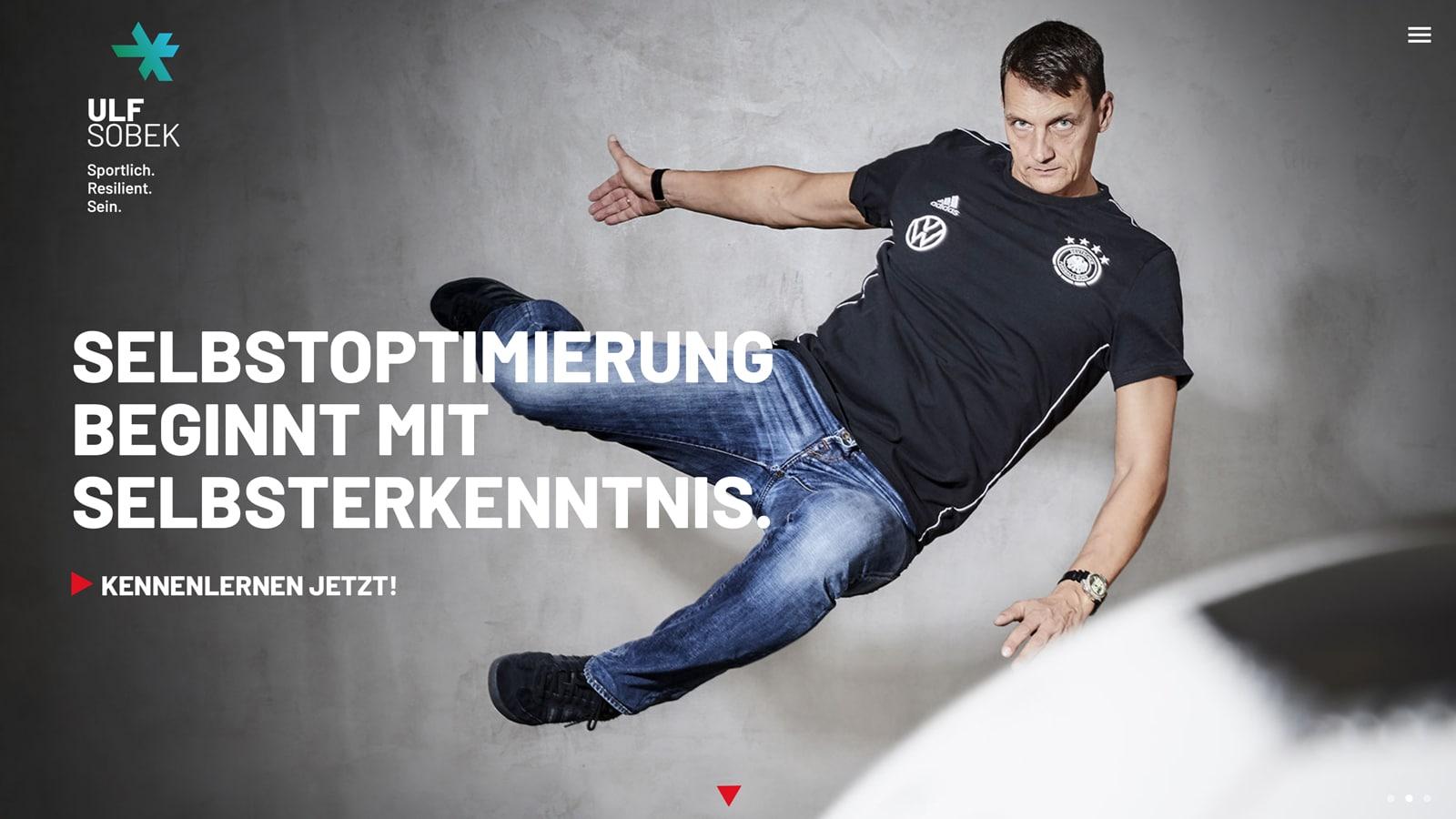 Webdesign für DFB Trainer