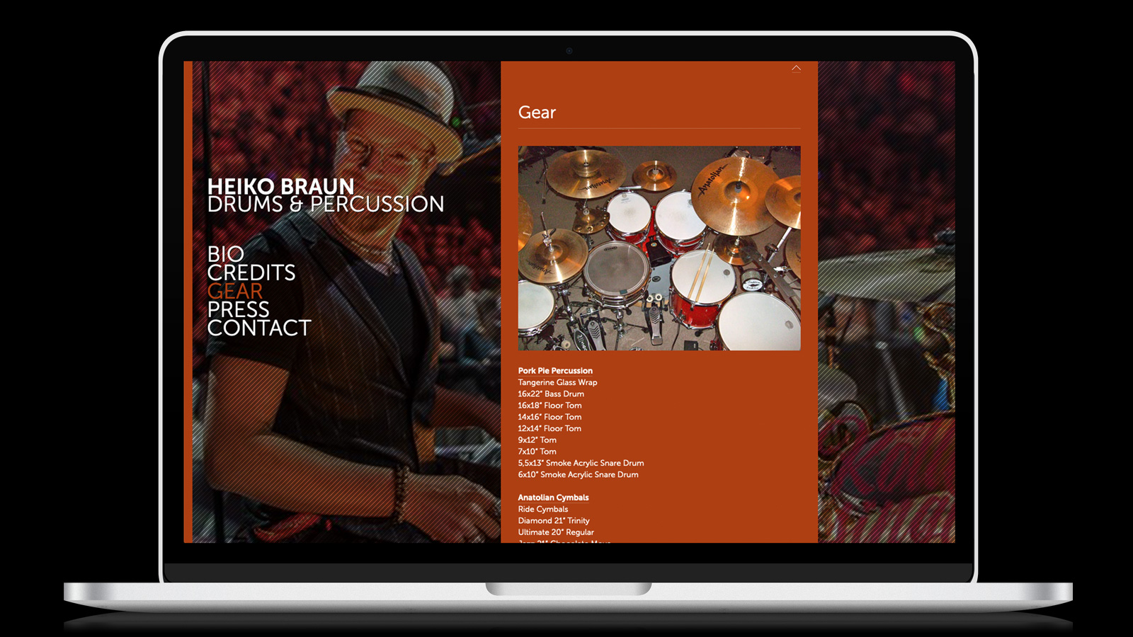 Heiko Braun | Höhner Drummer