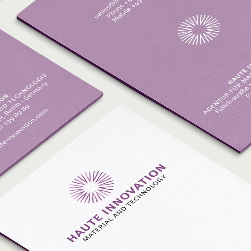 Logodesign Haute Innovation