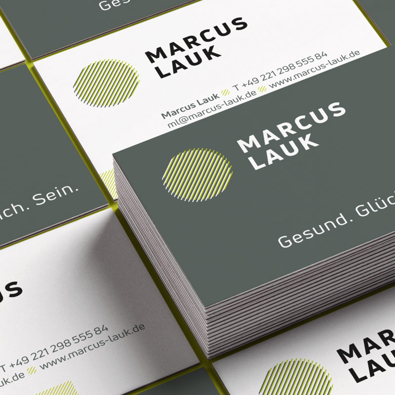 Corporate Design für Marcus Lauk