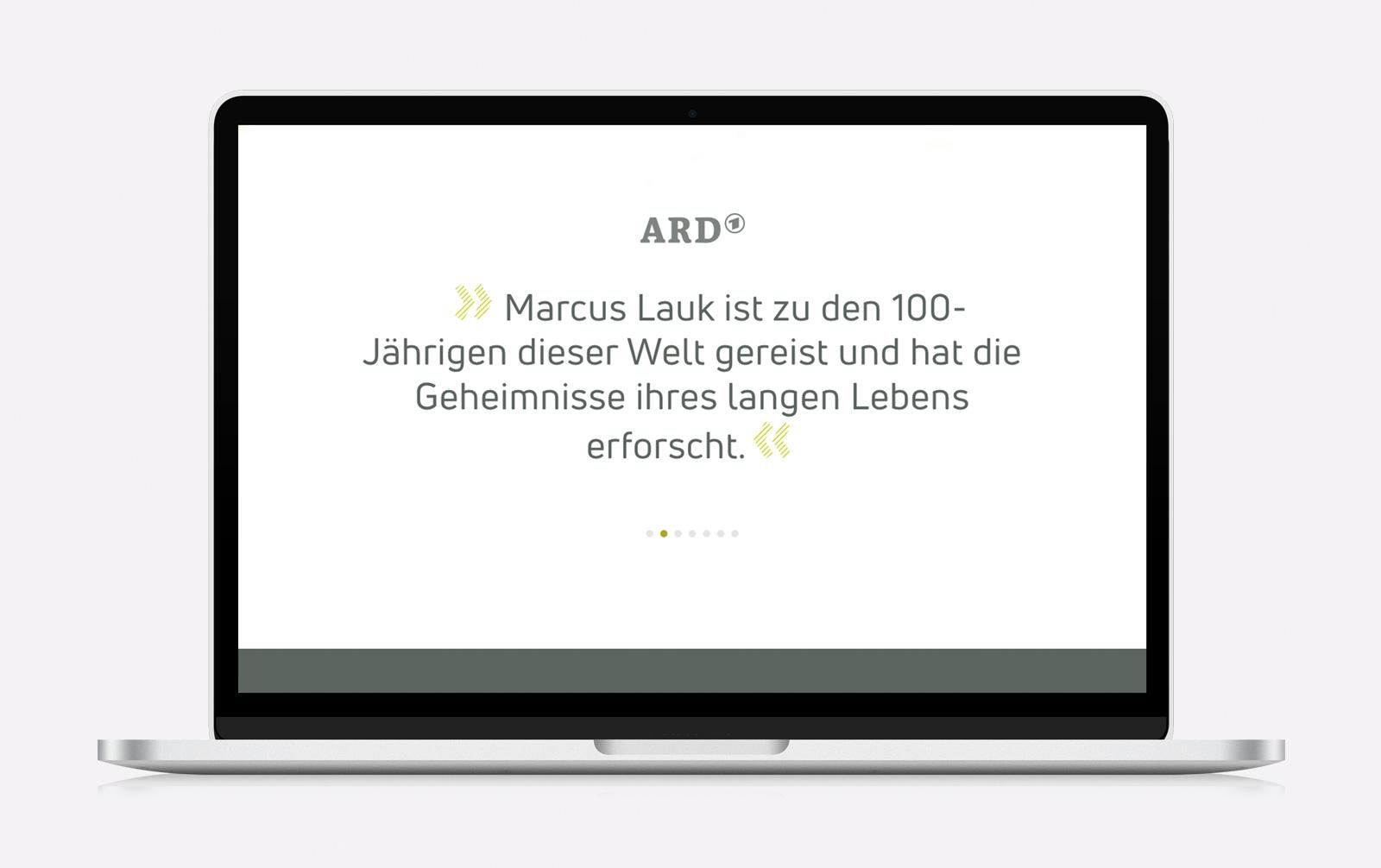 Webseite für Speaker