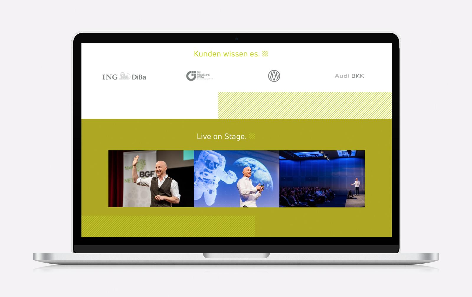 Website für Redner