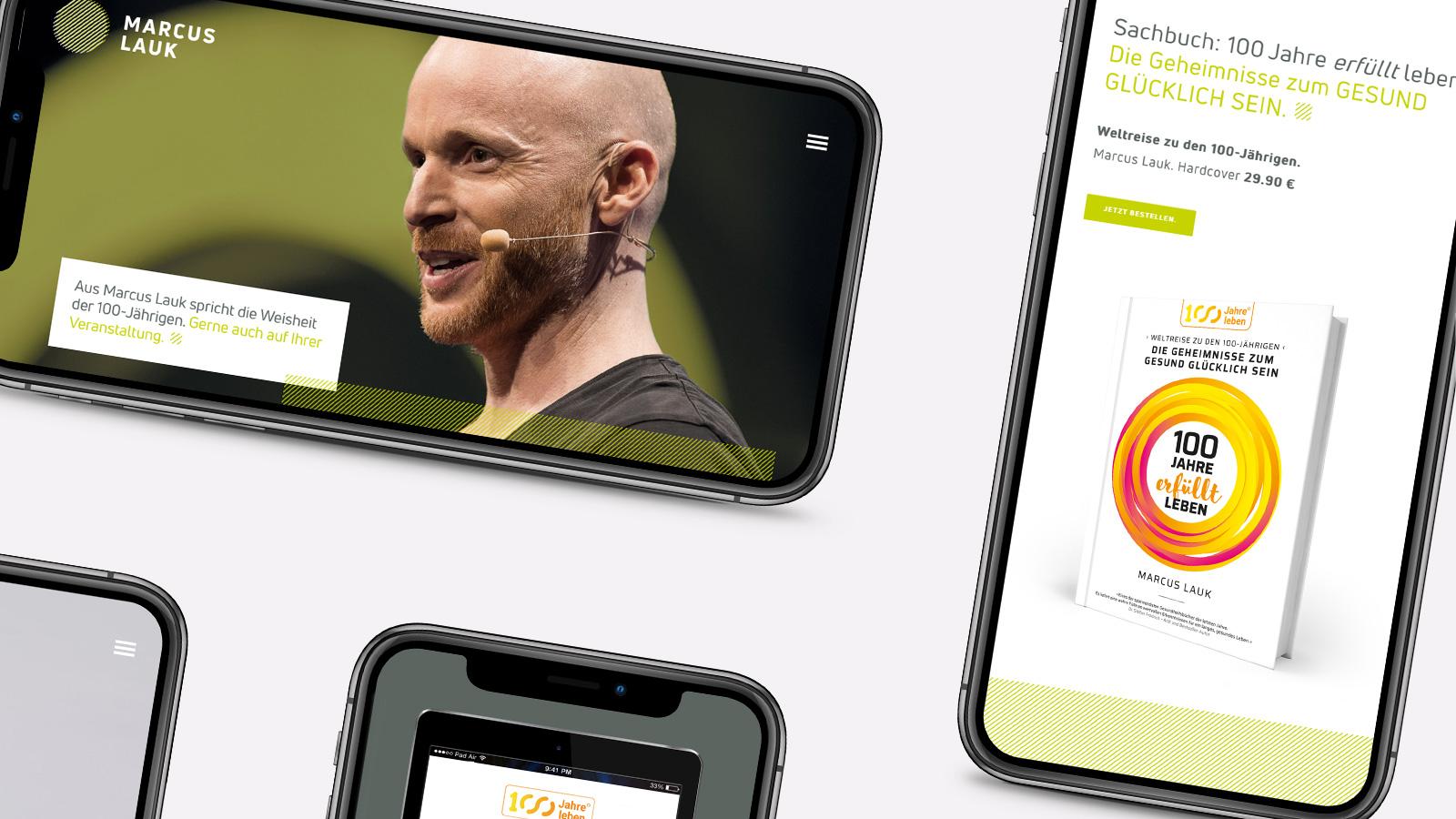 Webdesign für mobile