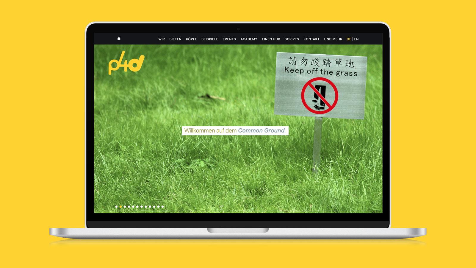 Webdesign für Unternehmensberatung
