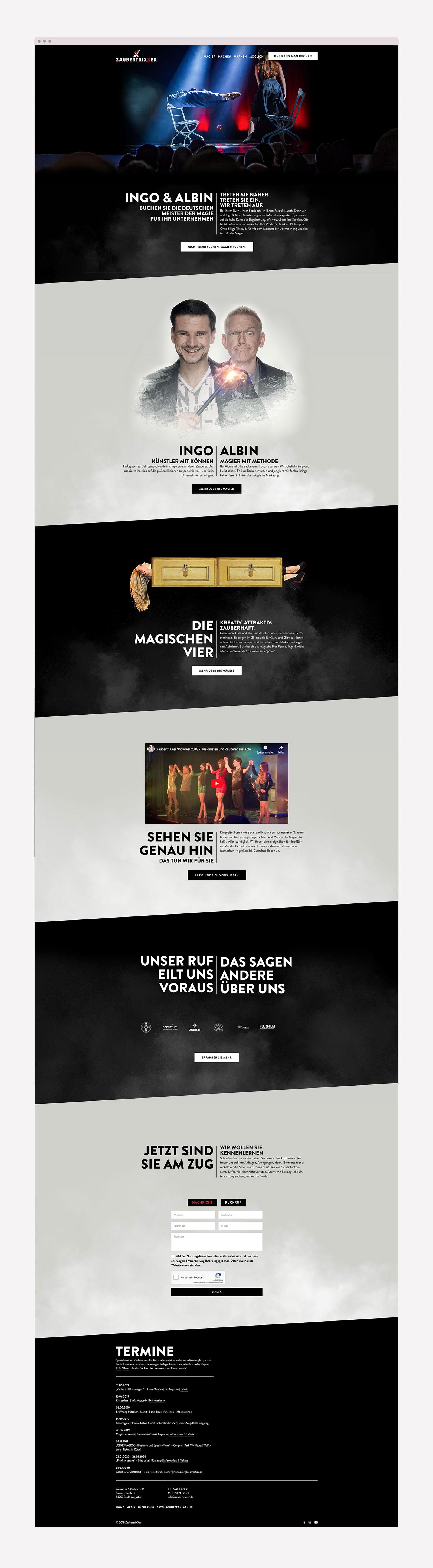 Webdesign für Zauberer