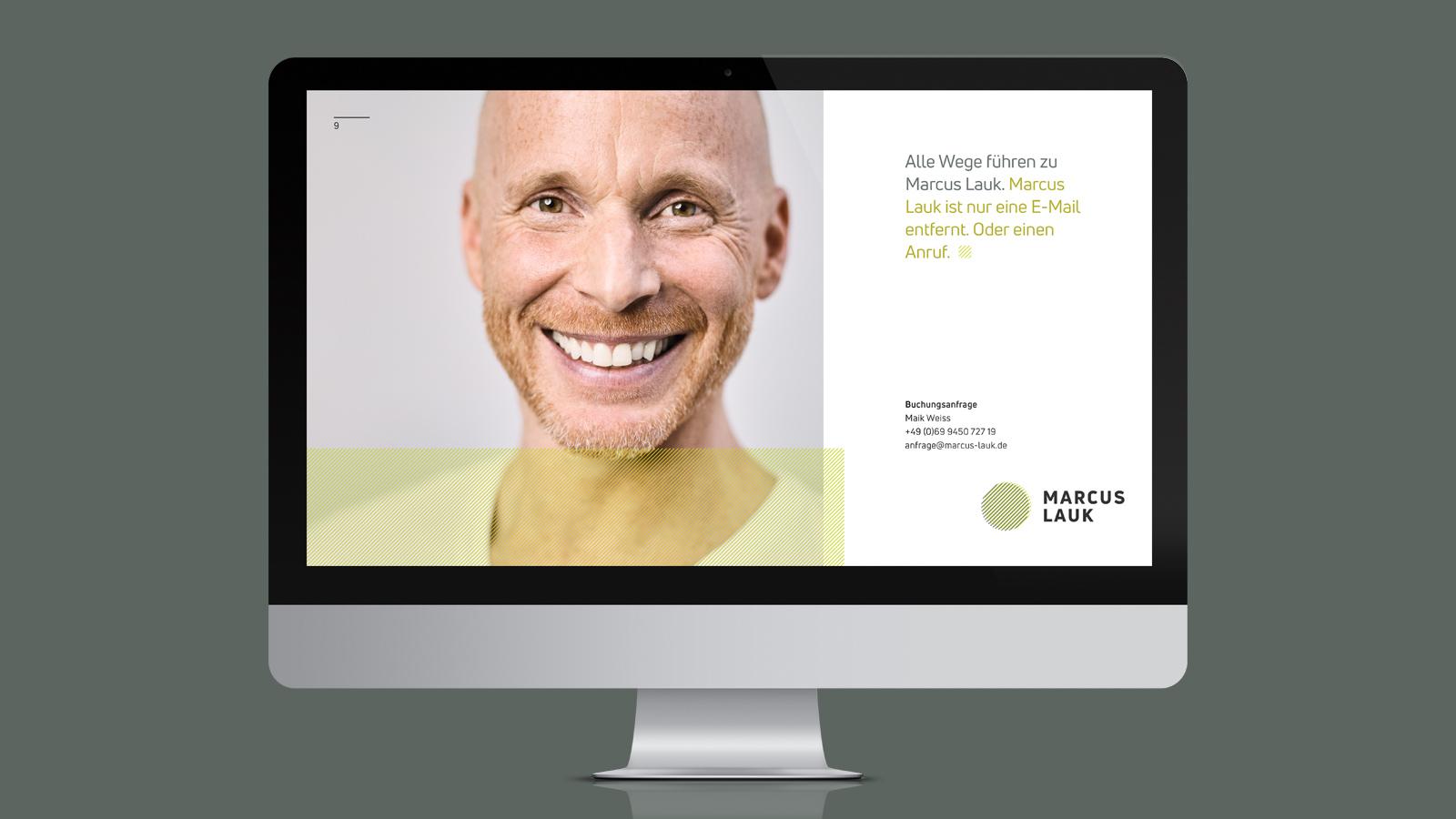 Design einer Rednermappe