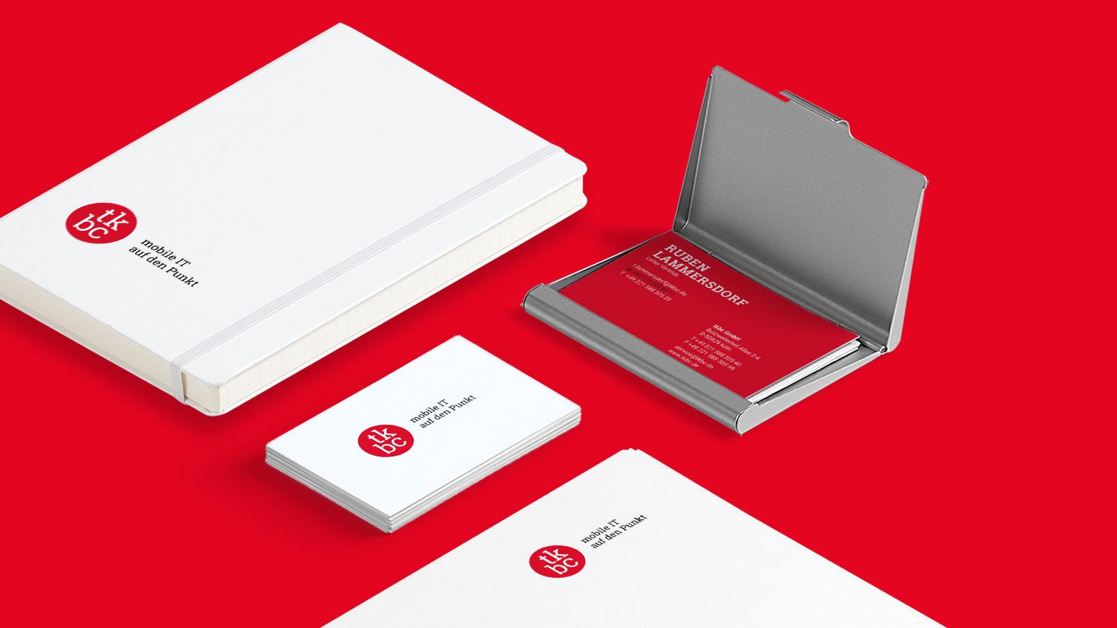 Corporate Design für Kölner IT-Dienstleister