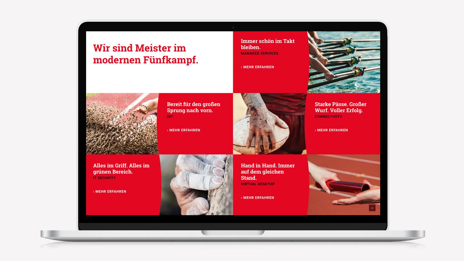 Responsive Webdesign für Kölner IT