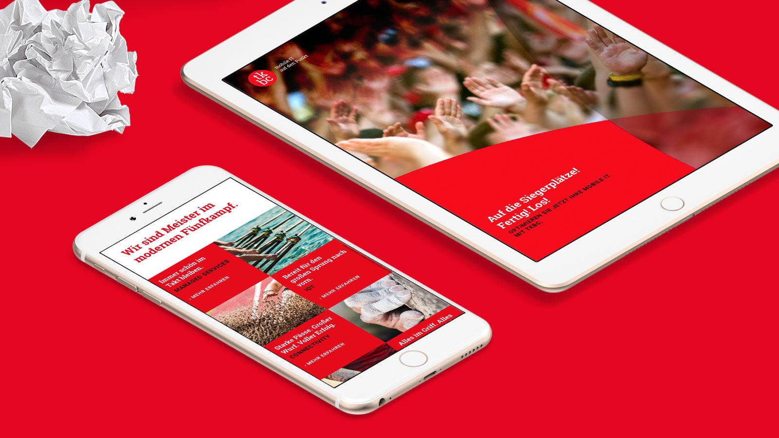 Webseite für Kölner IT-Dienstleister