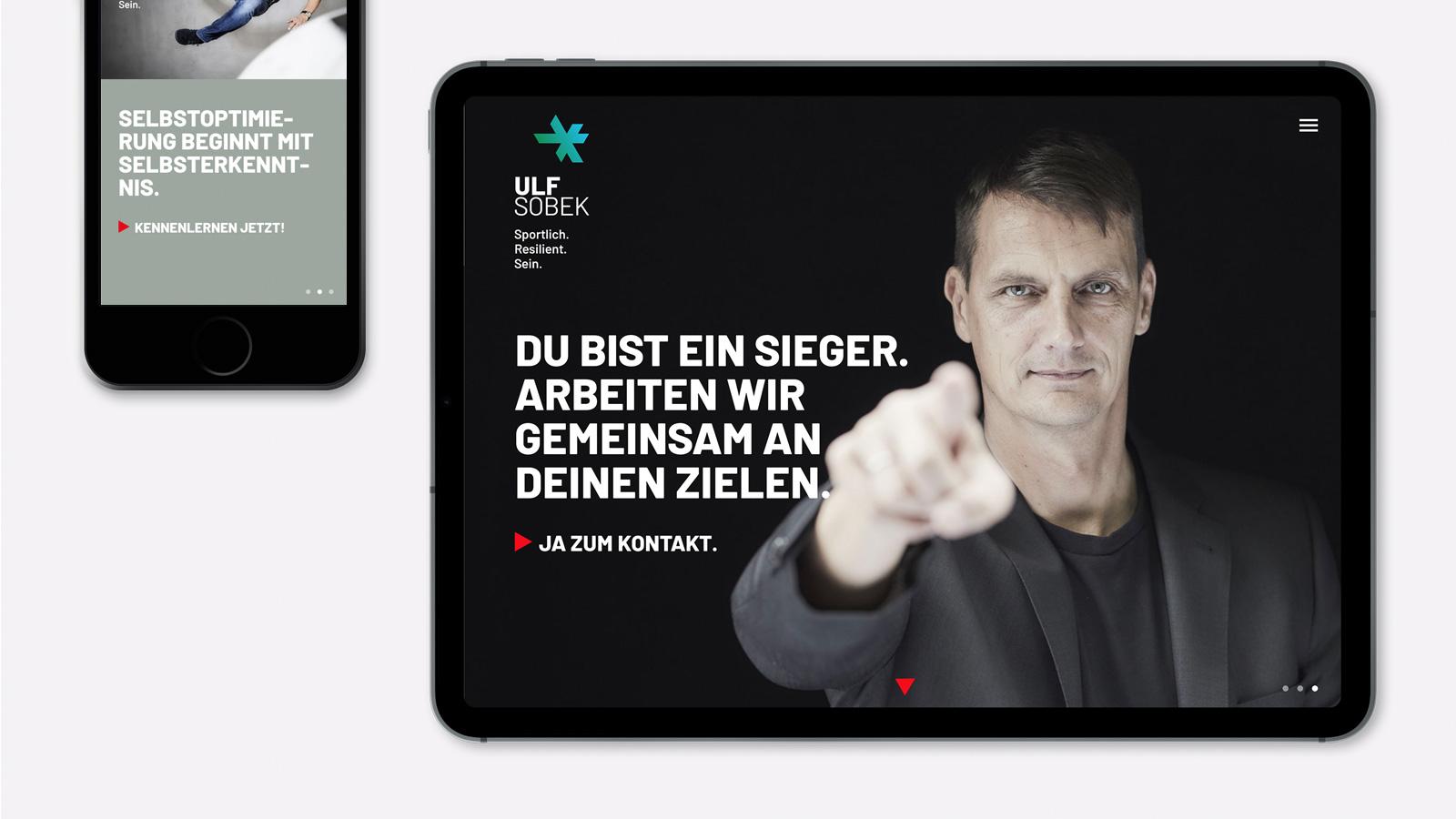 Webdesign für DFB-Trainer