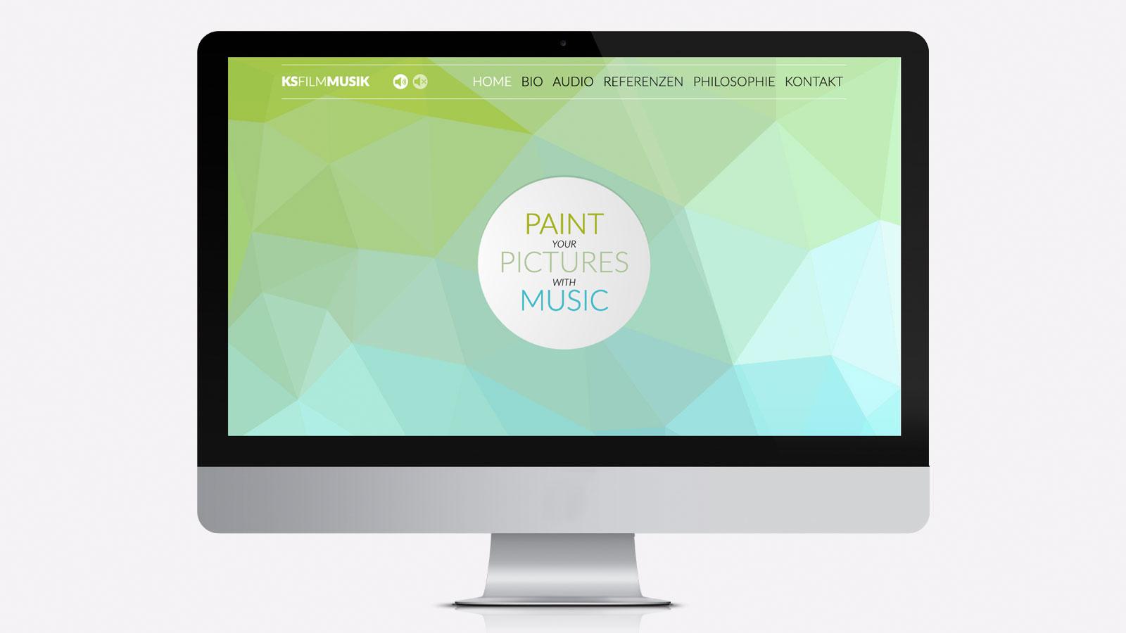 Design für Filmmusik