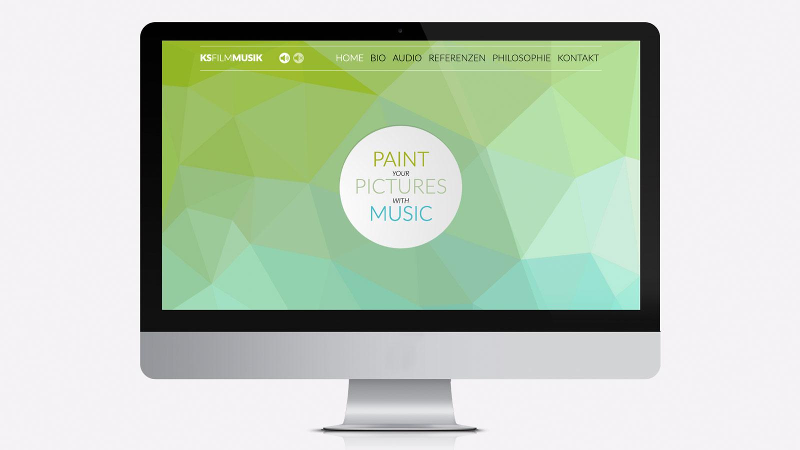 Website für Musiker