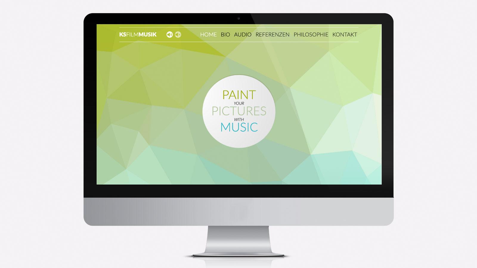 Webdesign für Musiker