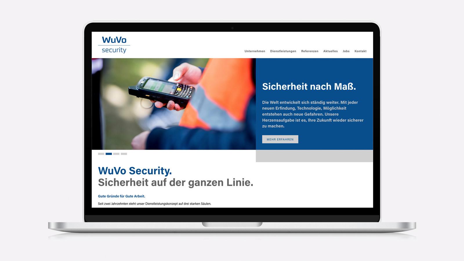 Webdesign für Security-Dienstleister