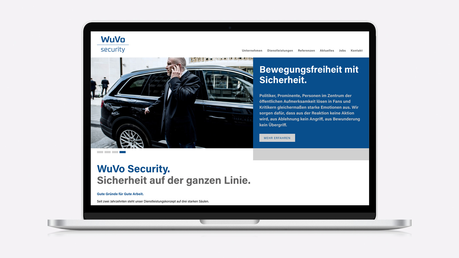 Responsive Webdesign WuVo Security