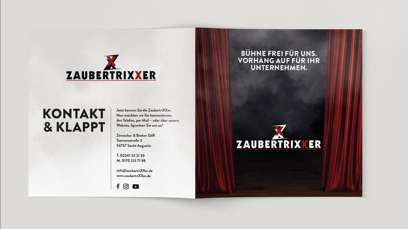 Flyer für Zaubertrixxer