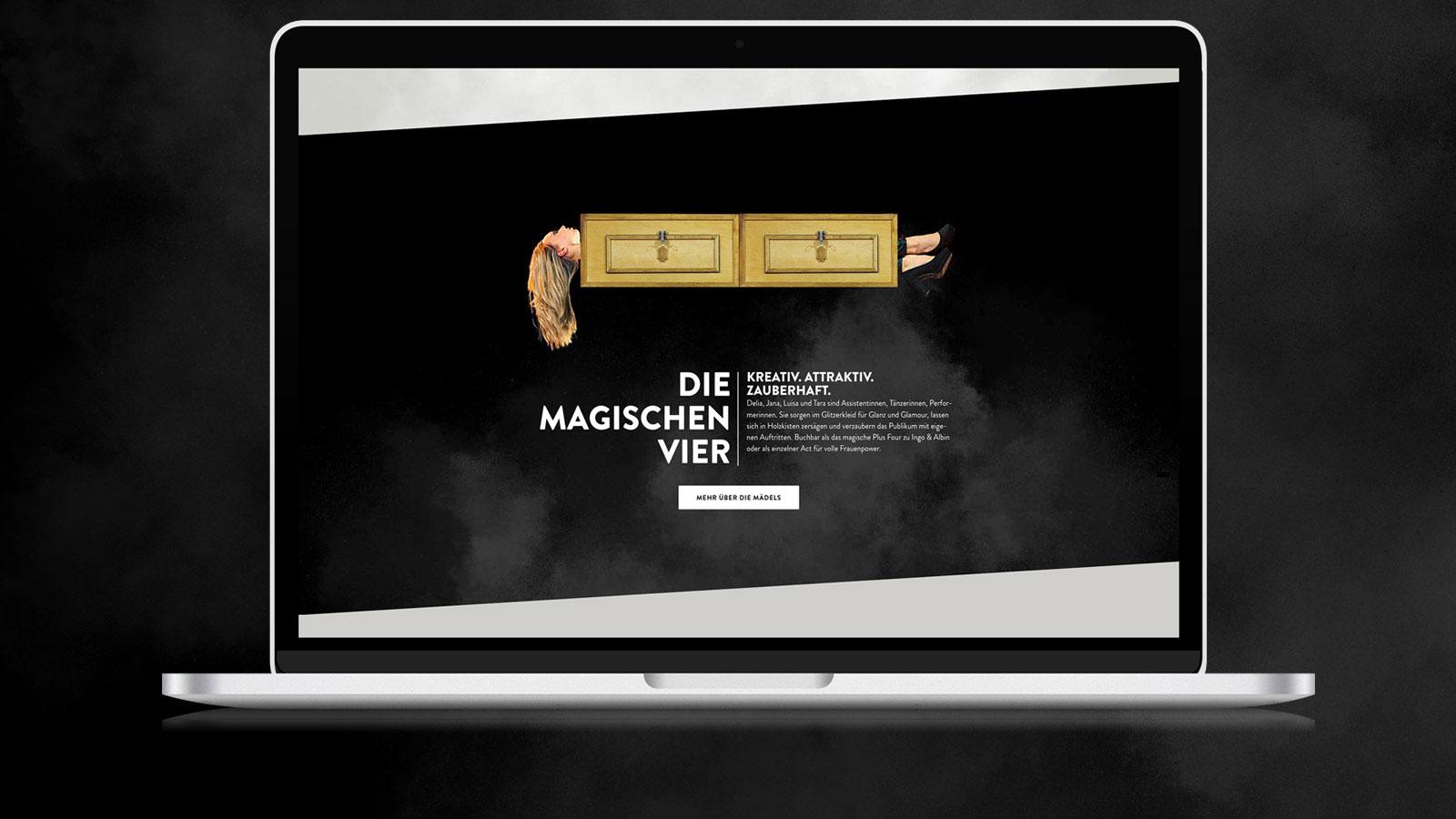 Responsive Webdesign für Magier